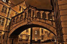 The Bridge of Sighs Oxford, Louvre, University, Community, World, Building, Arches, Bridges, Travel