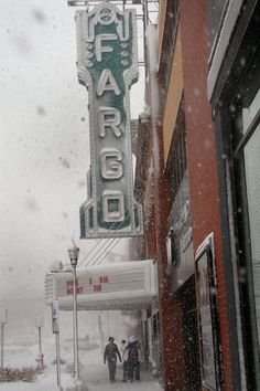 #Fargo, North Dakota.... Maybe not a favorite... But my peeps are here/around here