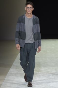 Giorgio Armani Men's RTW Spring 2015 - Slideshow