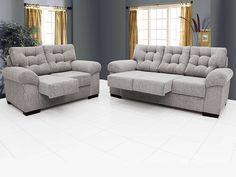 Olha que prático: sofá retrátil e com muito conforto! :)