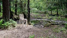 Hiatus chair in birch plywood
