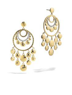 Beautiful Palu Chandelier Earrings #JohnHardy #MyJohnHardy