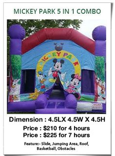 Are you looking to hire ‪jumping castles‬ for your kids in ‪Sydney‬? Austin Jumping Castle provides high quality, safe and well-designed jumping castles and slides at reasonable prices. http://www.austinjumpingcastles.com.au/KidsCombo.htm