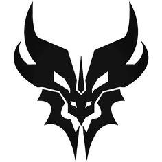 Dragon Tattoo Designs, Tribal Tattoo Designs, Tattoo Drawings, Body Art Tattoos, Ying Y Yang, Cool Symbols, Animal Symbolism, Art Logo, Ink Art