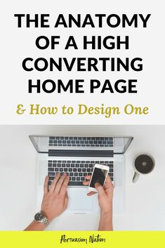 Want to increase conversions on your home page? An optimized homepage design can your email opt-ins. In this guide, you'll learn the anatomy of a high converting home page, and how to design one. Homepage Design, Web Design Tips, Blog Design, Design Ideas, Website Home Page, Page Web, Layout, Make Money Blogging, Blogging Ideas