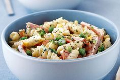 No worries. You can get this delicious Italian-Style Ham Primavera for four on the table in under half an hour. No worries. You can get this delicious Italian-Style Ham Primavera for four on the table in under half an hour. Kraft Recipes, Pork Recipes, Salad Recipes, Cooking Recipes, Healthy Recipes, Kraft Foods, Yummy Recipes, Healthy Food, Ham Dishes