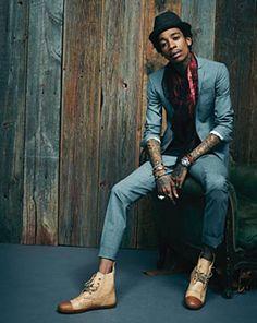 Wiz Khalifa & The Taylor Gang to Perform at Thomas & Mack Center Nov. Wiz Khalifa, Star Wars Outfit, Taylors Gang, American Rappers, The Wiz, Black N Yellow, Well Dressed, Dapper, Black Men