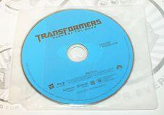 TRANSFORMERS DARK OF THE MOON BLURAY DISC ONLY 'NO DVD NO DIGITAL COPY NO CASE'