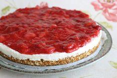 gezondere monchoutaart Healthy Sweets, Healthy Snacks, Cheesecake, Gluten Free Treats, Diet Snacks, I Foods, Sweet Tooth, Clean Eating, Deserts
