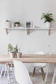 T.D.C | White + Wood