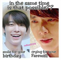 I'll remember. Forever. The day ELF Worldwide smile and sad on the same date. Will wait for you Hae!