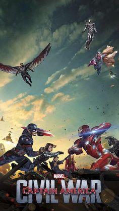 Captain America Civil War Wallpaper For Iphone 6 Plus Marvel