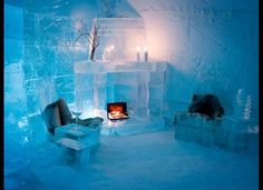 Sorrisniva, Norway   The Vikings. Norwegian fairytales. The Alta River. Each year, a single theme inspires the ice artisans who spend five weeks creating the Sorrisniva Igloo Hotel; this year's focus is on Norse mythology. But guests aren't left out in the cold for their entire stay: A heated service building offers restroom, changing, shower, sauna and restaurant facilities.