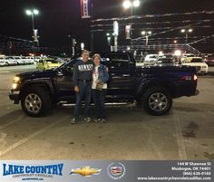 #HappyAnniversary to James Cook on your 2012 #Chevrolet #Colorado from Kim Folkner at Lake Country Chevrolet Cadillac!