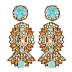 Stunning Suzanaa Dai Earrings at www.HAUTEheadquarters.com