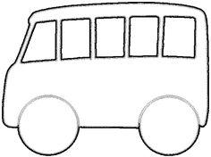 Ruimtelijke knutsel: vervoer bus - Mal van een bus