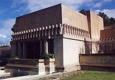 Hollyhock House (by Frank Lloyd Wright), Los Angeles, CA via Harvard Business School Association of SoCal