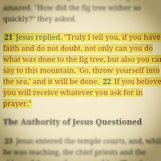 ...pray about it...as much as they talk about it :). Matthew 21:22