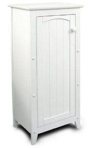 Catskill Craftsmen Single Door Kitchen Cabinet, White