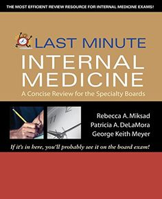 Last Minute Internal Medicine PDF