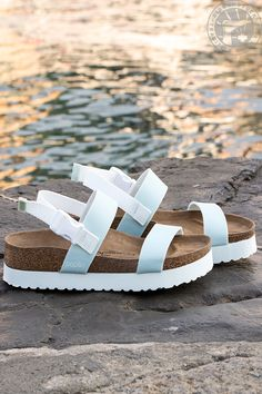 Stand out this spring and take your style to new heights in BIRKENSTOCK platform sandals and pastel colors that pop