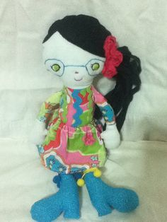 Isabelle Girl Doll Ready To Ship by NotSoPerfectFriends on Etsy, $49.00