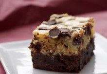 Bake or Break | Cream Cheese Brownies with Toffee and Pecans