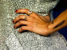 Zoe Kravitz. #tattoo #tattoos #ink