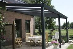 Thyssenkrupp Terrassenüberdachung PCcomfort (Tiefe: 3 M, B X H: 5 X M,  Farbe: Anthrazit, Farbe Eindeckung: Opal)