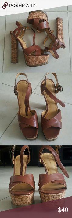 Nine west sandals Excellent condition. Comes with box Nine West Shoes Heels