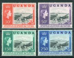 Uganda QEII Set 1962
