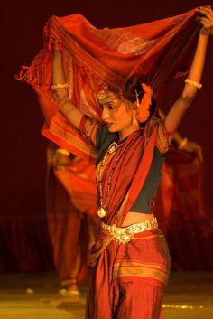 Lavani ~ A dance form from Maharashtra, India.