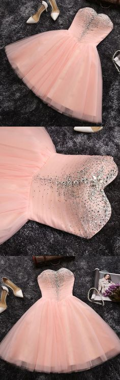 Cheap Prom Dresses, Short Prom Dresses, Prom Dresses Cheap, Pink Prom Dresses, Cheap Short Prom Dresses, Short Pink Prom Dresses, Online Prom Dresses, Prom Dresses Online, Cheap Homecoming Dresses, Homecoming Dresses Cheap, Short Homecoming Dresses, A-line/Princess Prom Dresses, Short Party Dresses, Short Pink Homecoming Dresses With Sequin Mini Sweetheart Sale Online