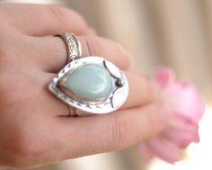 Handmade Sterling Silver Metalwork Ring by renegadeperceptions, $179.00