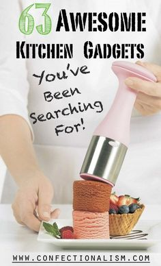 63 Awesome Kitchen Gadgets You've Been Searching For. Finish your kitchen gadget collection or find the perfect gift for the chef in your life!