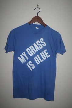 vintage 80's BLUE GRASS festival soft thin t by ACADEMYCLOTHIERS2, $26.00