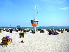 lübeck- Travemünde beach - Strandkorb