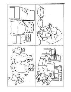 Kuvahaun tulos haulle goldilocks and the three bears sequencing Bears Preschool, Preschool Literacy, Pre Kindergarten, Preschool Art, Fairy Tale Activities, Book Activities, September Preschool, Story Sequencing, Goldilocks And The Three Bears