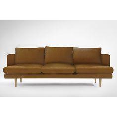 Carl 3 Seater Leather Sofa $2,879