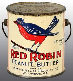 69 New ideas red robin bird illustration sweets Vintage Tins, Vintage Labels, Retro Vintage, Vintage Kitchen, Red Robin Bird, Tin Can Alley, Coffee Tin, Tin Containers, Vintage Packaging