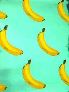 I hate bananas and all they stand for. Fruit should be spherical and juicy. Bananas are neither. I haven't eaten bananas since the grade. I don't ttrust them. <~ but bananas are fantastic Pattern Vegetal, Pattern Texture, Surface Pattern, Andy Warhol, The Velvet Underground, Illustration Arte, Pattern Illustration, Design Pop Art, Design Design