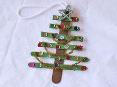 7 DIY Christmas Ornaments for kids