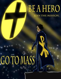 Students 'sell' Mass in ad campaign: http://thecatholicspirit.com/featured/students-sell-mass-in-ad-campaign/