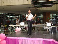 Evento Día Internacional de la Mujer Idhaly Guzmán en su Charla: Feminidad y Masculinidad...en contra de la pareja.