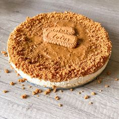 Lotus Cheesecake, Cheesecake Recipes, Healthy Deserts, Sweet Desserts, Cheesecakes, Food Photo, Food And Drink, Cooking Recipes, Sweets