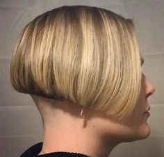 Hair Extensions Remy – Hair Care And Extensions Shaved Bob, Shaved Nape, Shaved Undercut, Undercut Bob, Stacked Bob Hairstyles, Cool Hairstyles, Woman Hairstyles, Undercut Hairstyles, Short Hair Cuts