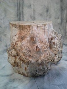 Tronc de bois flotté comme mange debout chez www.deco-nature.com