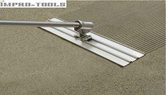 Kraft Tool by Multi-Track Bull Float Grover Concrete Tools, Concrete Walkway, Concrete Finishes, Concrete Driveways, Stamped Concrete, Paver Walkway, Concrete Slab Foundation, Stucco Exterior, Papercrete