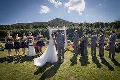 Abbie & Erik - Garden Valley Pond - Jay Peak Resort - Vermont Weddings