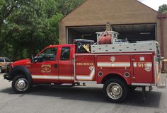 Aberdeen Fire Rescue Dept. Ford F-550